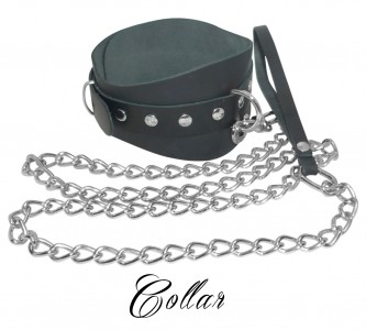 Collar With Leash