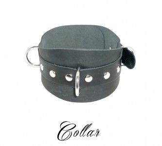 Collar With 3 Rings Nk Free Black