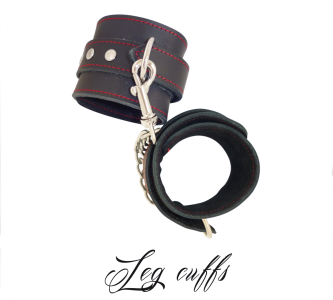 Leg Cuffs With Hook