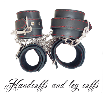 Handcuffs With Leg Cuffs